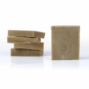 Chutes de shampoing solide Rhassoul saponifié à froid