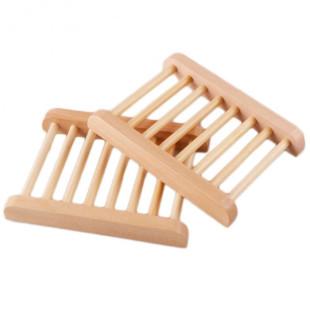 Porte-savon en bambou naturel
